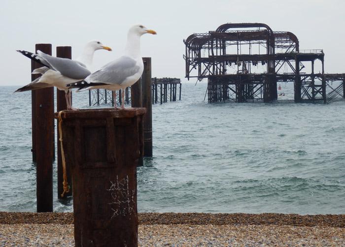 Old Pier, Brighton