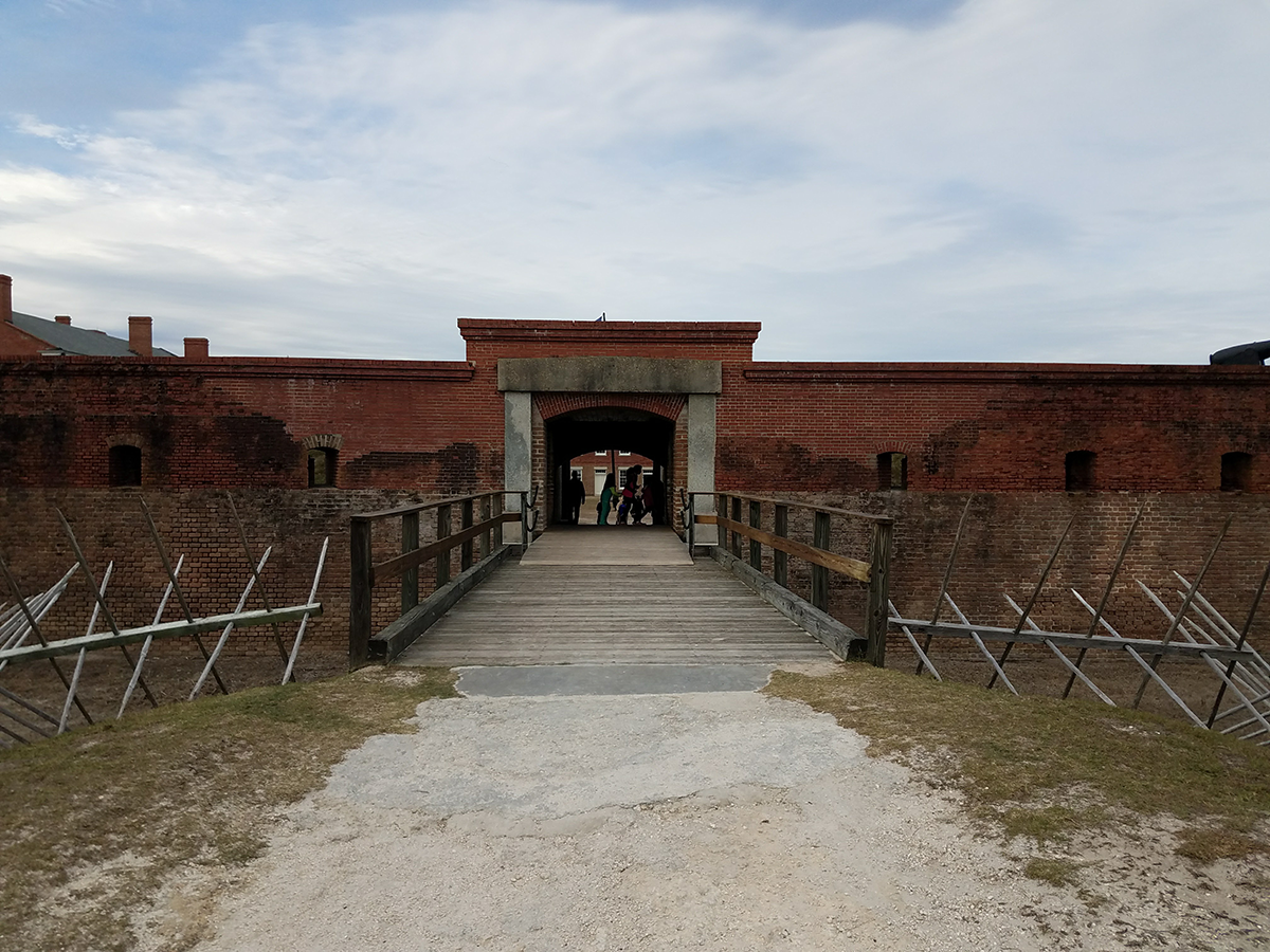 Fort Clinch entrance