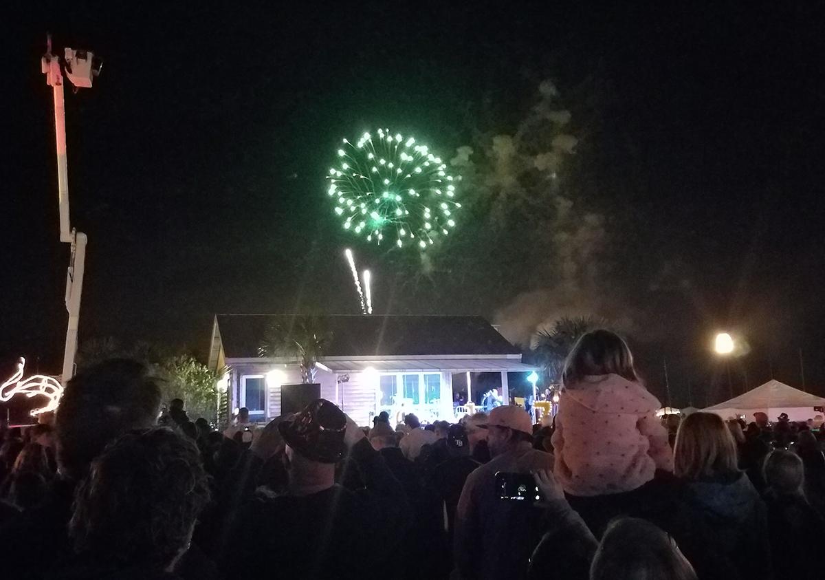 Fernandina Beach fireworks