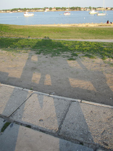 shadowy self portrait