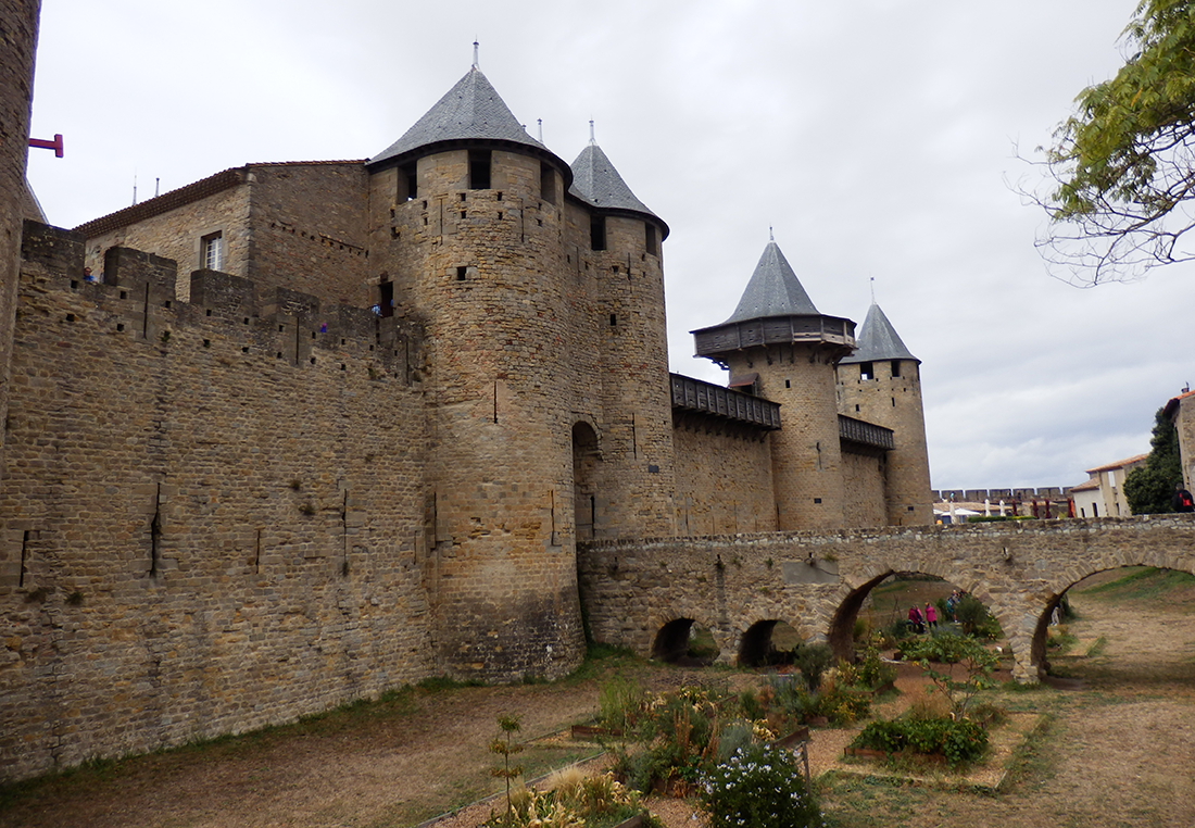 Carcassonne palace