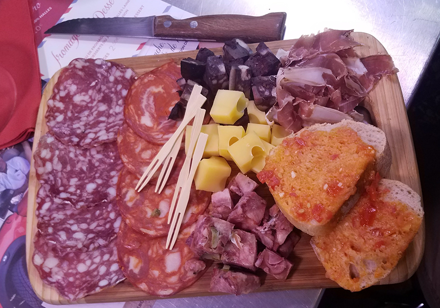 Narbonne charcuterie