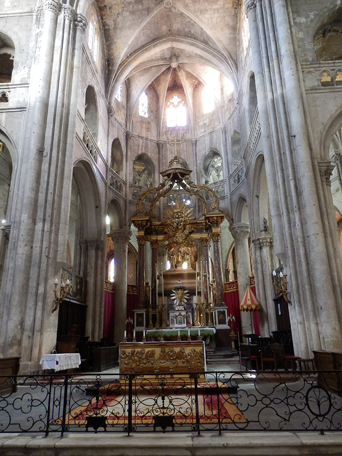Narbonne Cathedral Altar