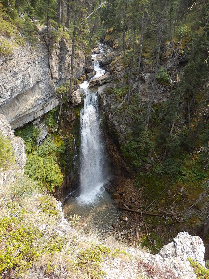 Indian Creek Trail falls