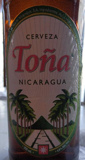 """Nicaraguan for """"beer"""""""
