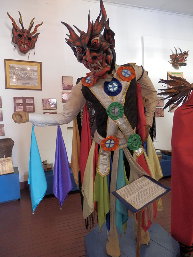 Chitre devil masks
