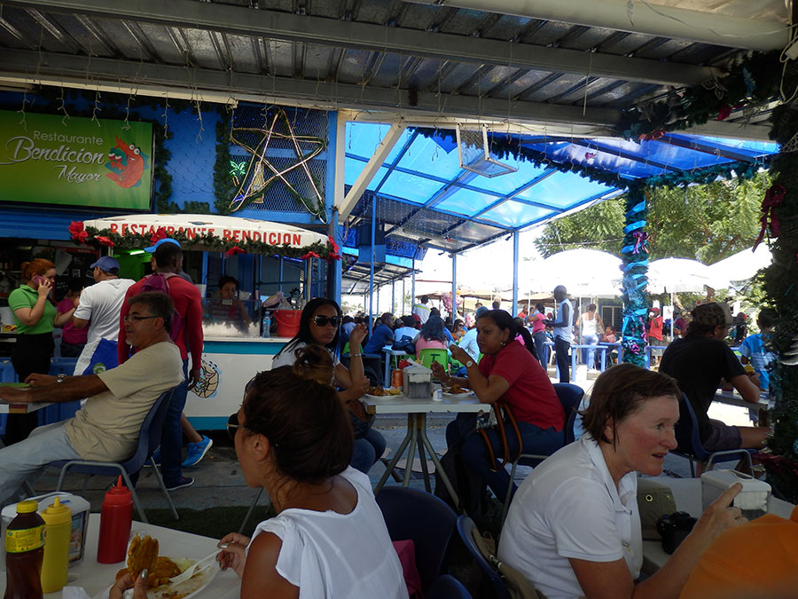 Panama fish market