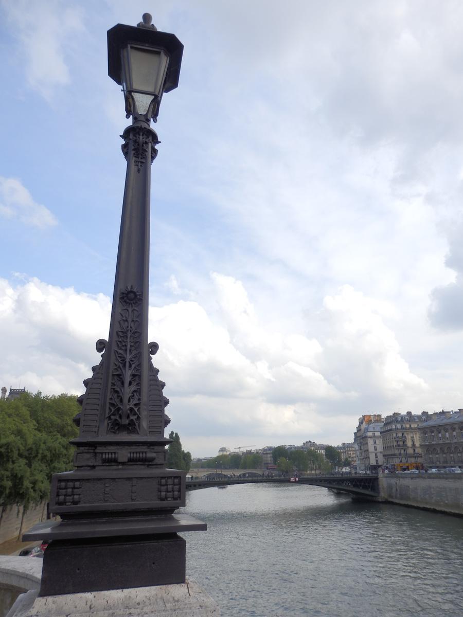 Parisian lamppost