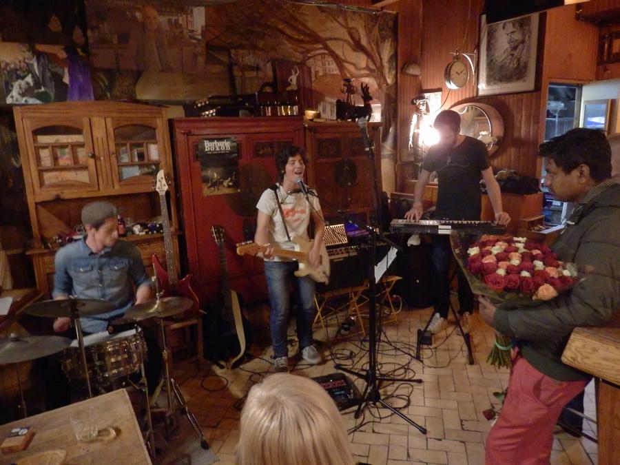 Paris' music scene