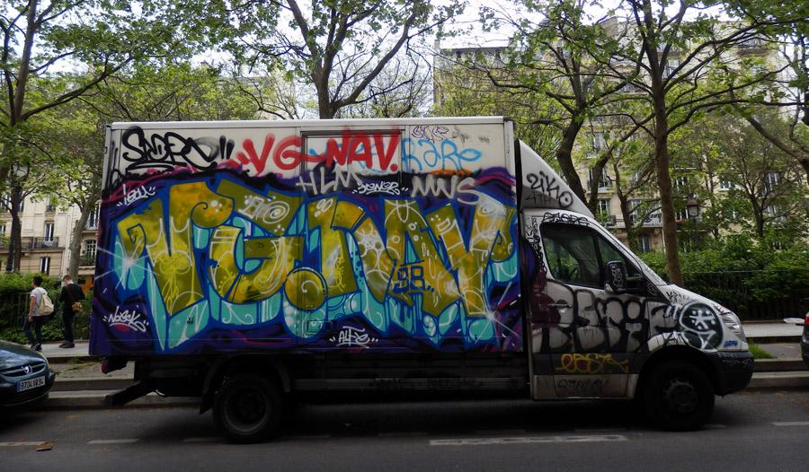 Paris grafiti
