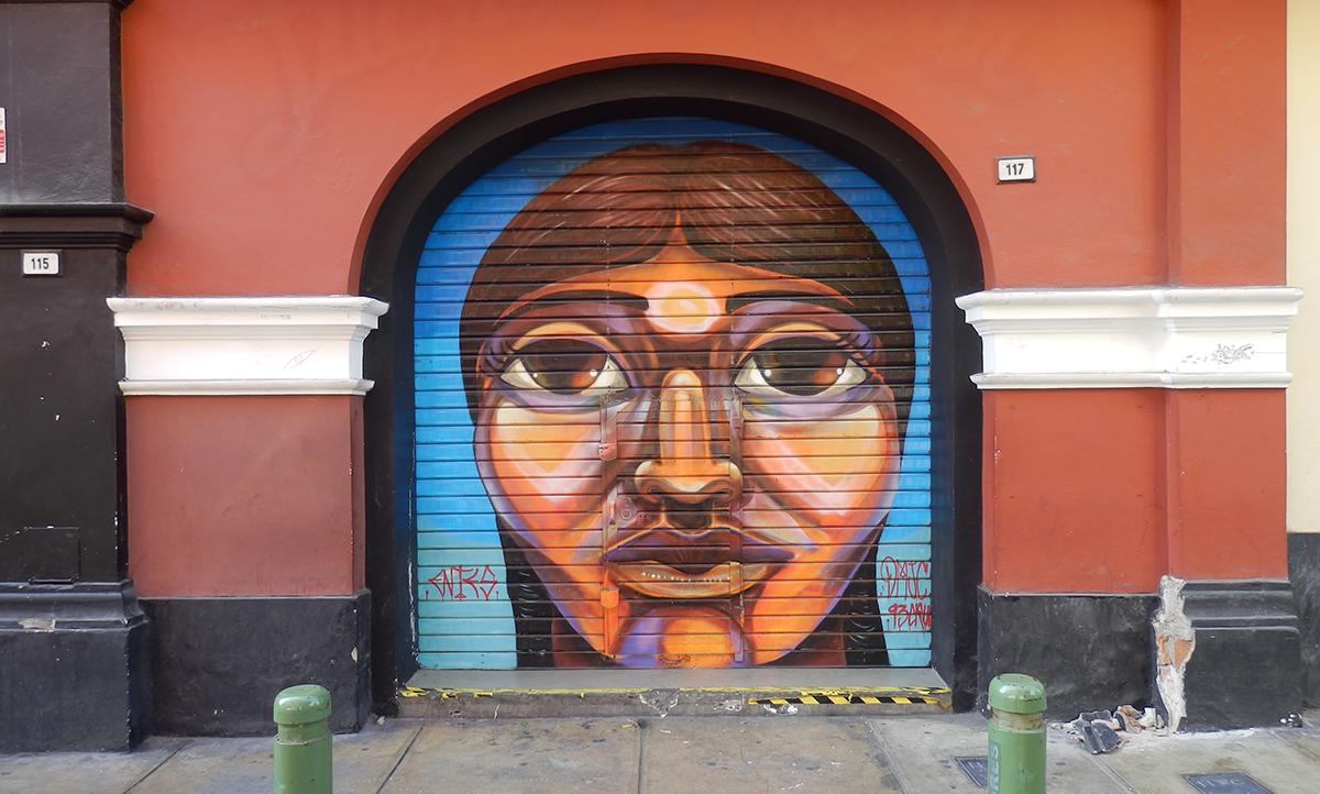 Lima mural