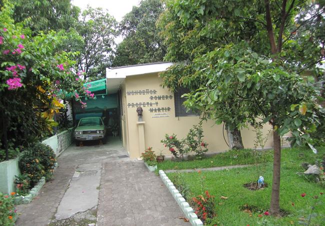 Archbishop Romero's home
