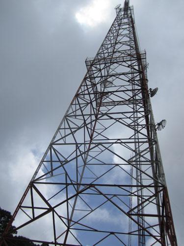 volcano tower