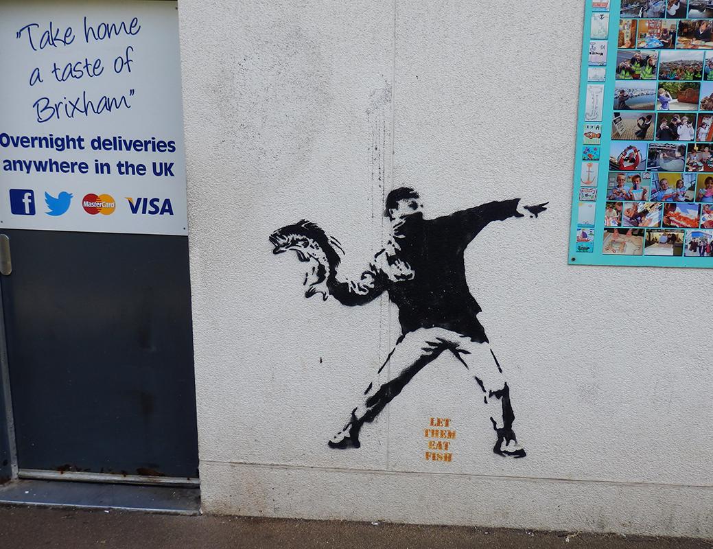 Brixham Banksy?