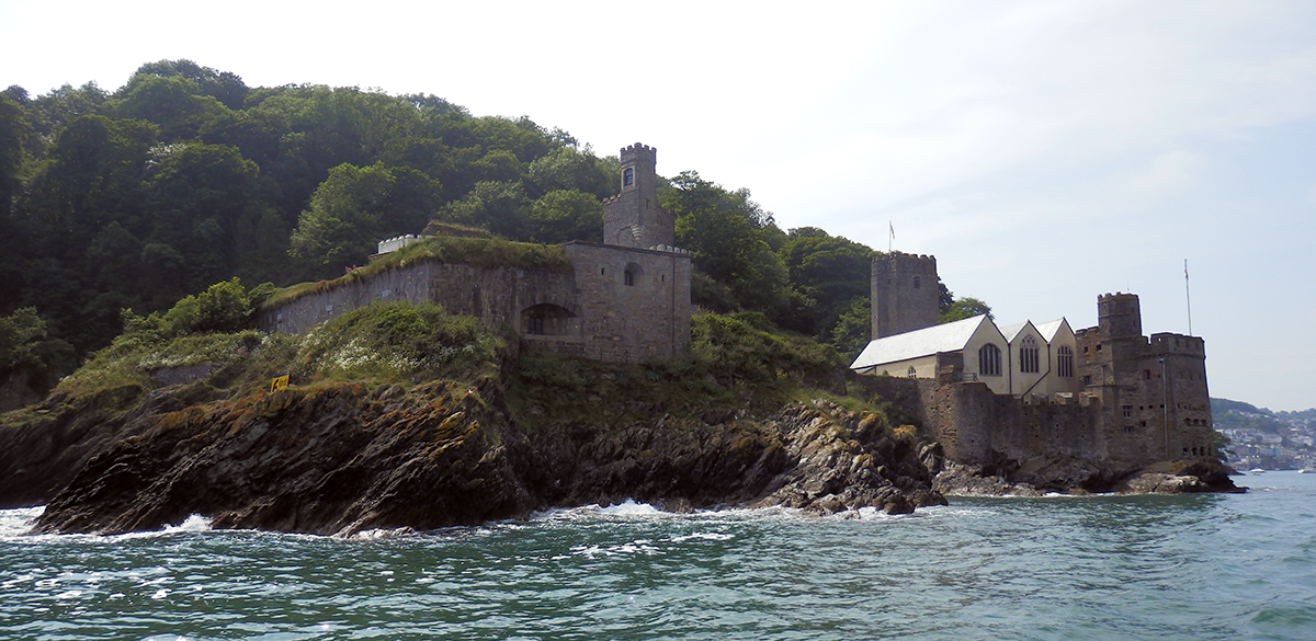 Dartmouth fort and church