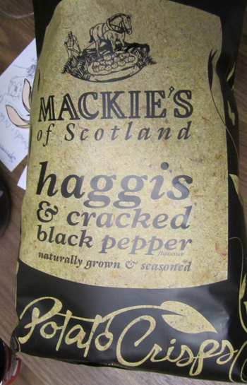 Haggis Crisps