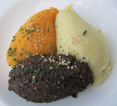 haggis, tatties and nips