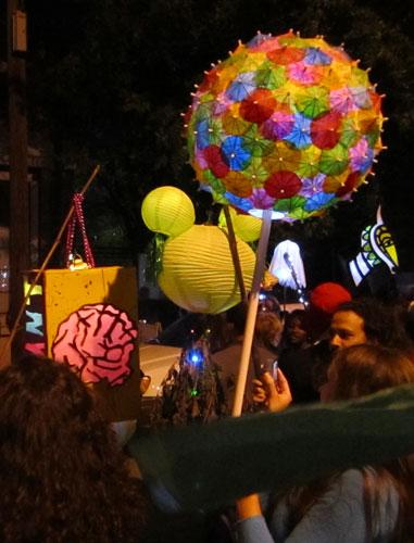 Flux lantern parade