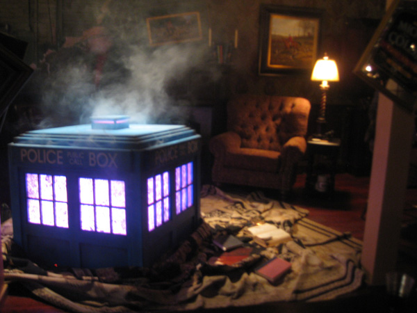Dr. Who booth